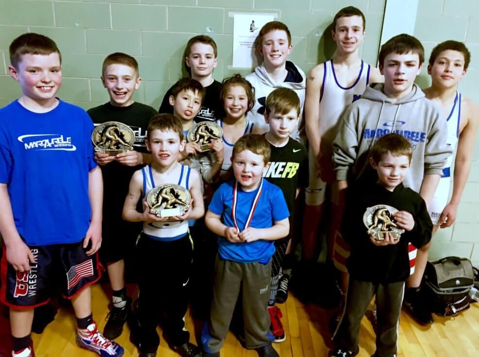 Warwick PAL wrestling tournament