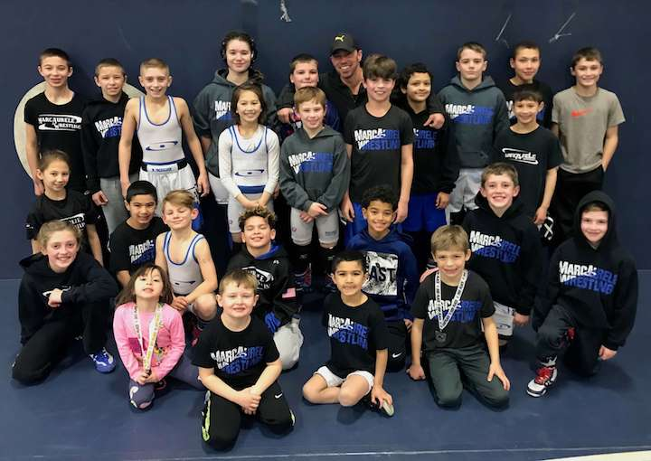 MarcAurele Wrestling at Westerly Tournament